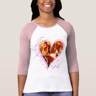 Amo el arte - camiseta polera