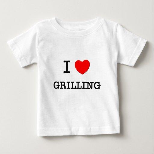 Amo el ASAR A LA PARRILLA (la comida) Tshirts
