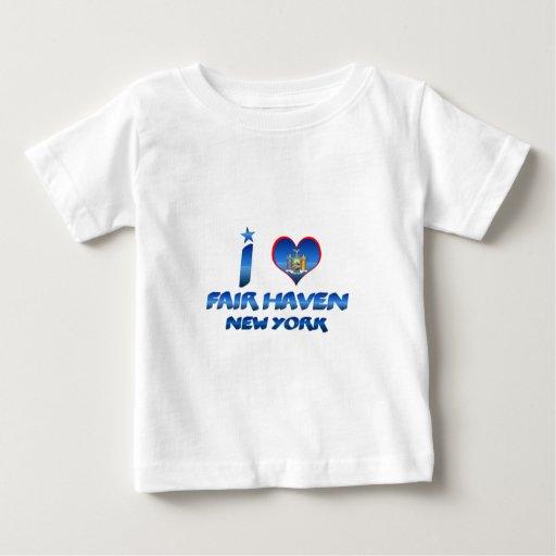 Amo el asilo justo, Nueva York Tee Shirts
