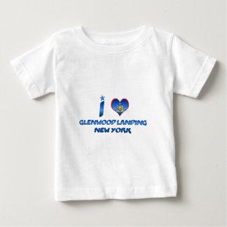 Amo el aterrizaje de Glenwood, Nueva York Remeras