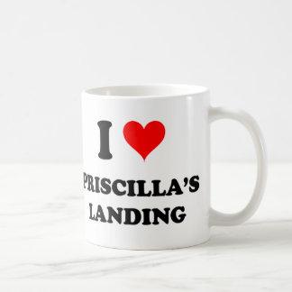 Amo el aterrizaje Massachusetts de Priscilla Taza Clásica