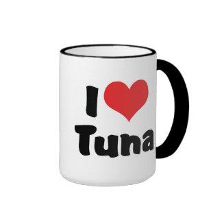 Amo el atún taza de dos colores