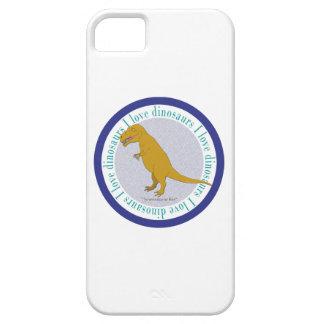 Amo el azul de T-Rex de los dinosaurios Funda Para iPhone SE/5/5s