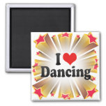Amo el bailar imanes de nevera