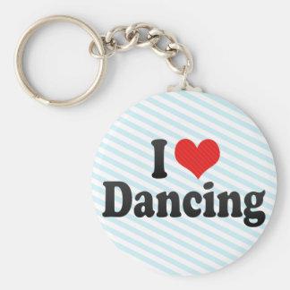 Amo el bailar llaveros