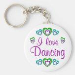 Amo el bailar llavero