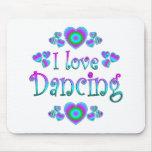 Amo el bailar tapetes de ratones