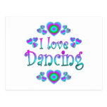 Amo el bailar tarjetas postales