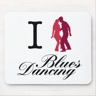 Amo el baile de los azules alfombrilla de raton