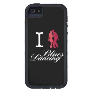 Amo el baile de los azules iPhone 5 protectores