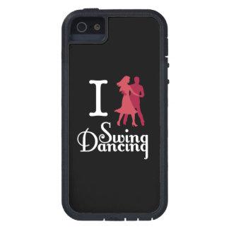 Amo el baile del oscilación iPhone 5 Case-Mate funda