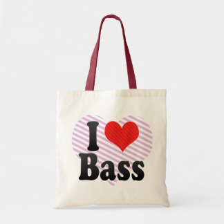 Amo el bajo bolsas