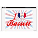 Amo el Bassett, Iowa Portátil Skin