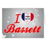 Amo el Bassett, Iowa Tarjeton