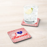 Amo el Bassett, Kansas Posavasos De Bebidas