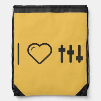 Amo el batir mochilas