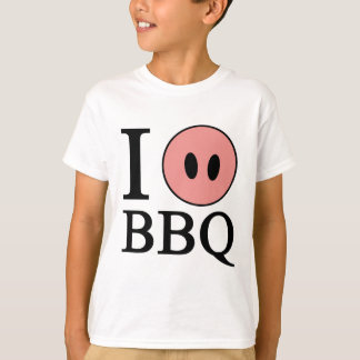 Amo el Bbq Playera