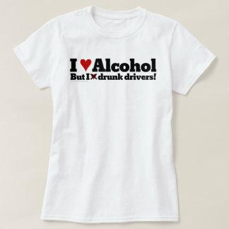 Amo el beber del alcohol pero odio conductores playeras