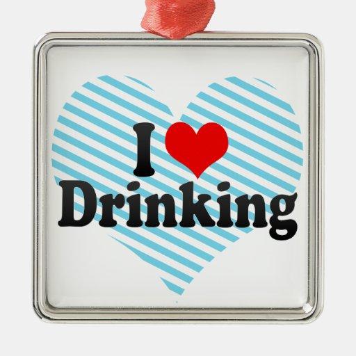 Amo el beber ornamentos de reyes