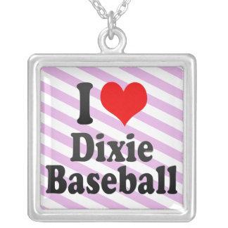 Amo el béisbol de Dixie Grimpola Personalizada
