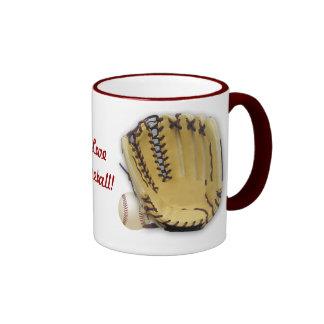 Amo el Béisbol-Mitón y la bola Taza