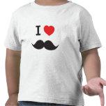 Amo el bigote camisetas