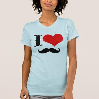 Amo el bigote playeras