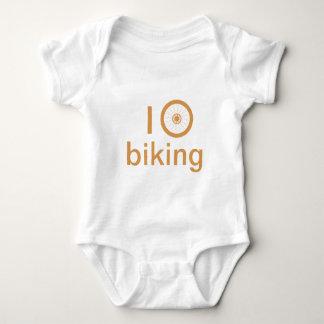 Amo el biking camisas
