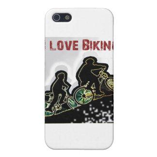 Amo el Biking de Gonzo iPhone 5 Carcasas