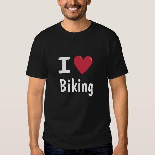 Amo el Biking de la camisa