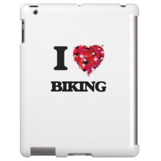 Amo el Biking Funda Para iPad