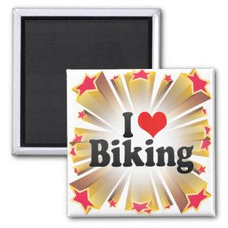 Amo el Biking Iman De Nevera