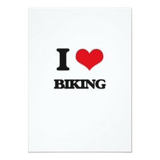 """Amo el Biking Invitación 5"""" X 7"""""""