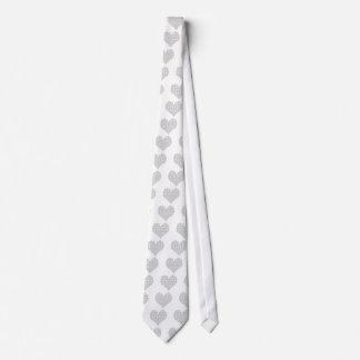 Amo el binario de la tecnología corbata