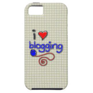 Amo el Blogging iPhone 5 Carcasa