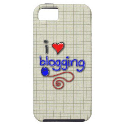 Amo el Blogging iPhone 5 Protector