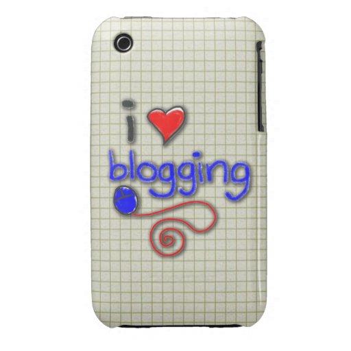 Amo el Blogging Case-Mate iPhone 3 Protector