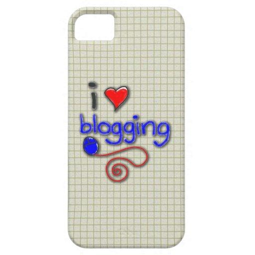 Amo el Blogging iPhone 5 Case-Mate Cárcasas