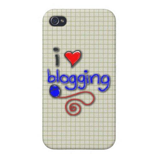 Amo el Blogging iPhone 4/4S Carcasa