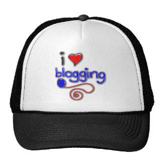 Amo el Blogging Gorro De Camionero