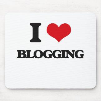 Amo el Blogging Alfombrilla De Raton