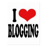 Amo el Blogging Tarjetas Postales