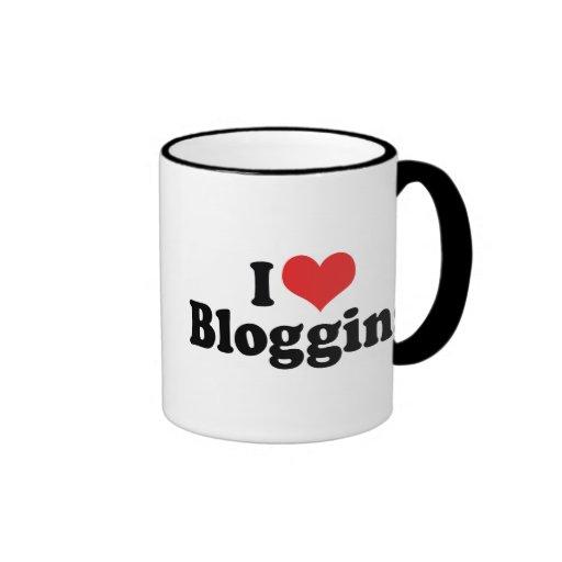 Amo el Blogging Taza De Café