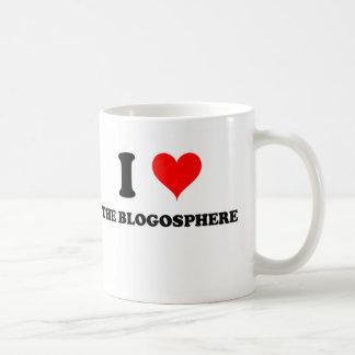 Amo el Blogosphere Tazas De Café