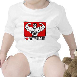 Amo el Bodybuilding Camisetas