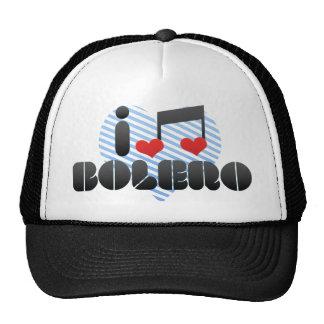 Amo el bolero gorra
