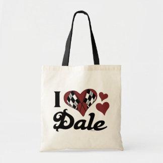 Amo el bolso de Dale Bolsa Tela Barata