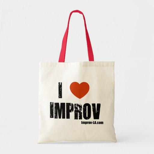 Amo el bolso de Improv Bolsa Tela Barata