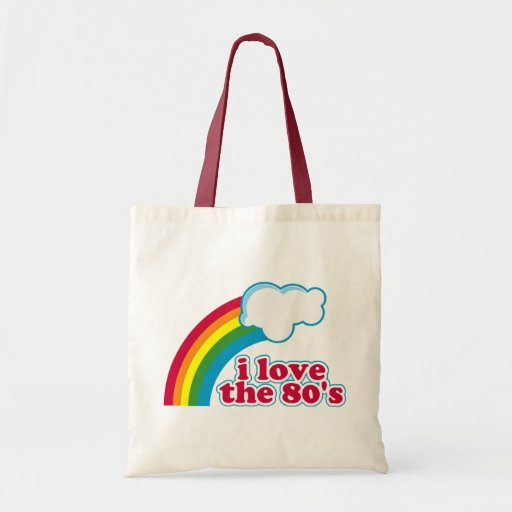 Amo el bolso de los años 80