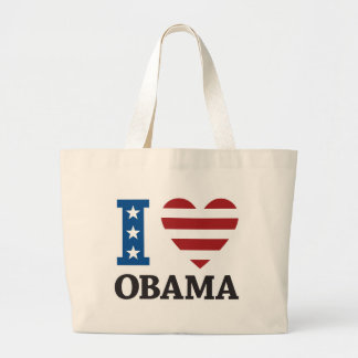 Amo el bolso de Obama Bolsa Tela Grande